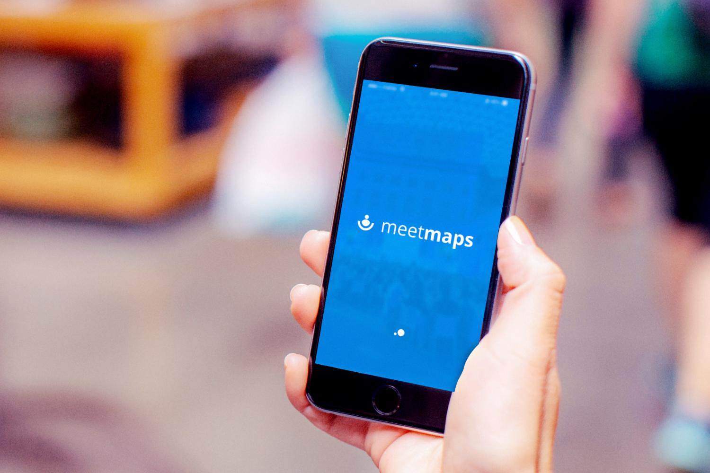 Meetmaps app eventos