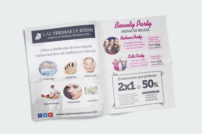 Las Termas de Ruham Publicidad Prensa