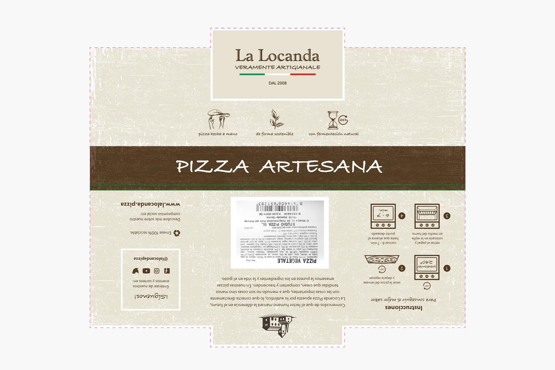 La Locanda Packaging pizza refrigerada